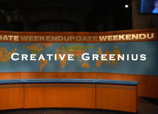 weekend greenius update