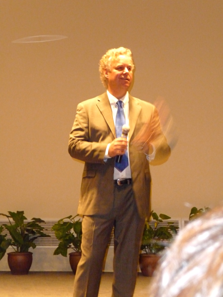 EcoMotion President, Ted Flanigan