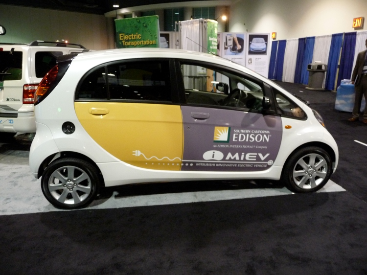 The i-MiEV without the Greenius to distract you