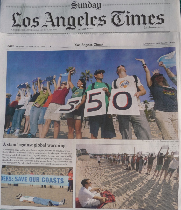 Oct 25 LA Times 350 Coverage