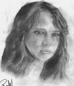 Artist sketch of Bella