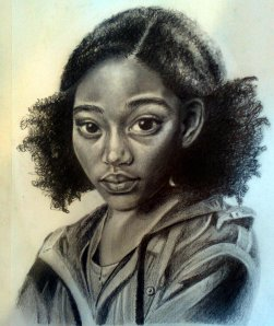 Artist sketch of Rue