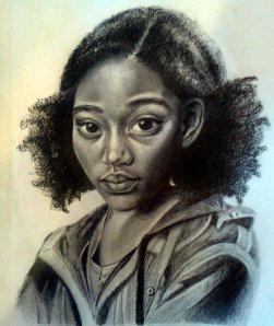 Artist sketch of Rue